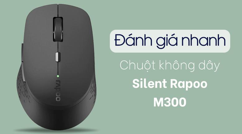 Chuột Không Dây Bluetooth Silent Rapoo M300