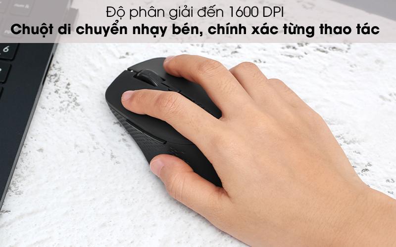 Di chuyển nhạy bén - Chuột không dây Silent Rapoo M300