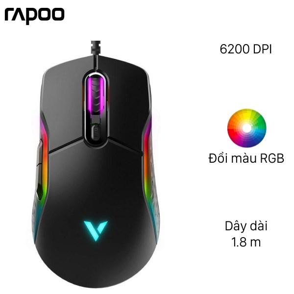 Chuột Gaming Rapoo VT200 Đen