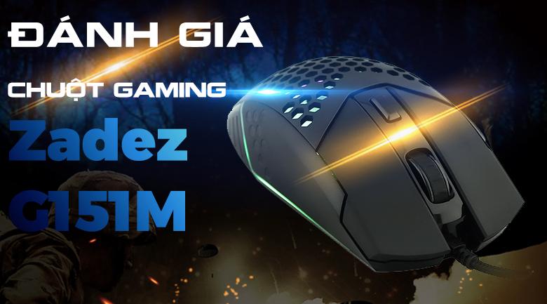 Chuột Có Dây Gaming Zadez G151M