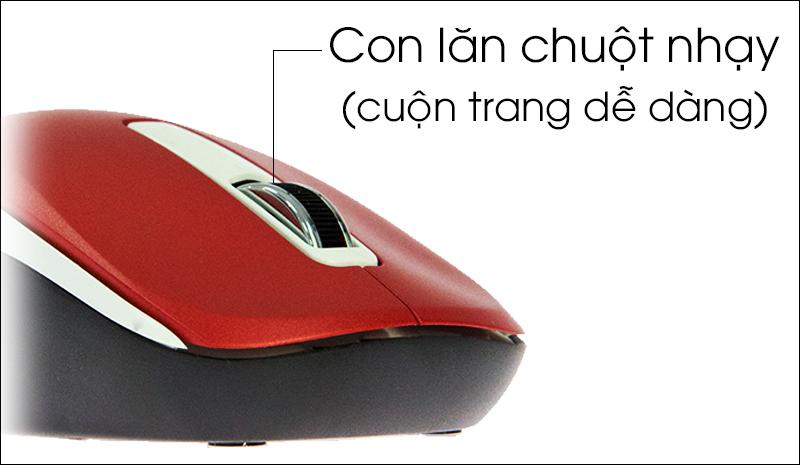 Chuột không dây Genius NX 7010 - Thiết kế đẹp mắt, kiểu dáng nhỏ gọn