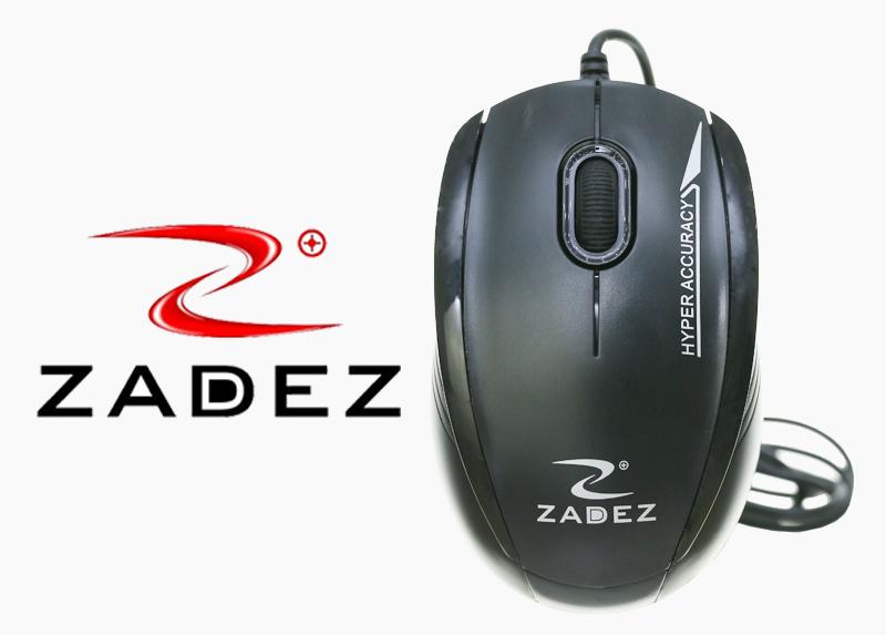 Mouse Zadez M116 ខ្មៅ