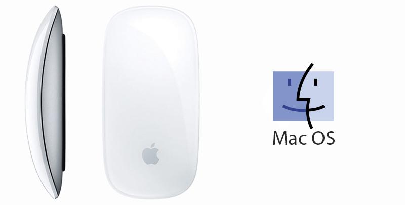 Chuột Bluetooth Apple MLA02 Trắng - Sử dụng được cho hệ điều hành Mac OS