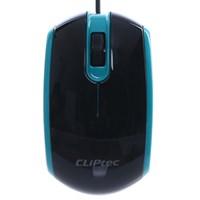 Chuột có dây Cliptec Speed-Logic RZS966 Đen Xanh