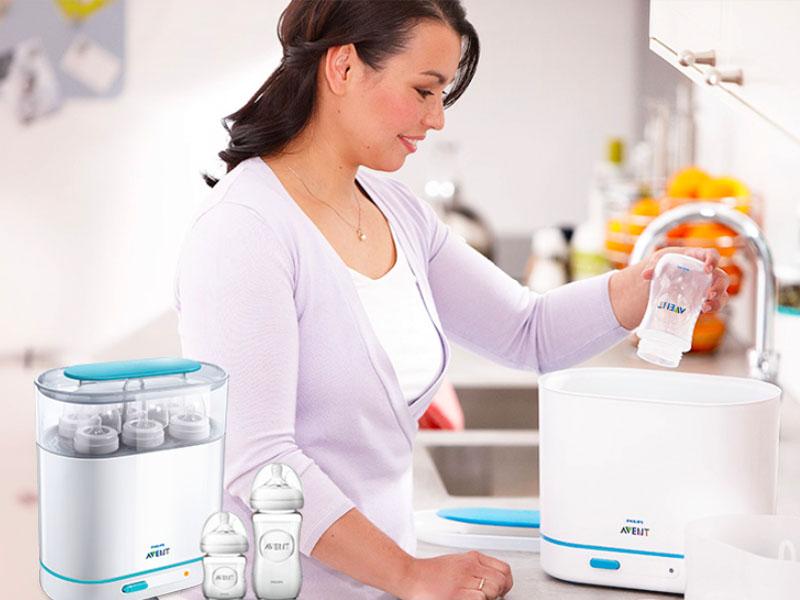 Máy tiệt trùng bình sữa loại nào tốt? Các tiêu chí cần biết trước khi mua