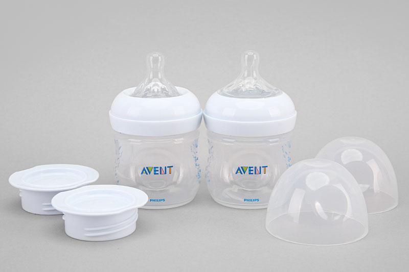 Bình đựng sữa - Máy hút sữa bằng điện đôi Philips Avent SCF303/01