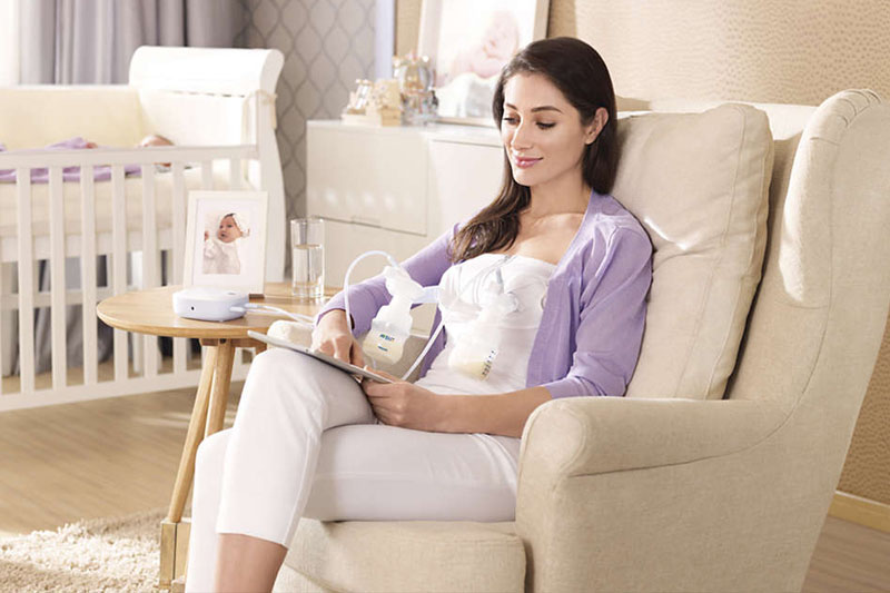 Thiết kế - Máy hút sữa bằng điện đôi Philips Avent SCF303/01