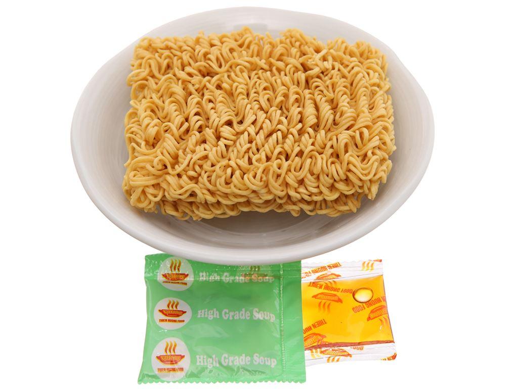 Thùng 30 gói mì chay Vị Hương canh chua 65g 6