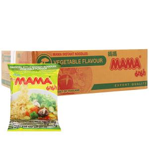 Thùng 30 gói mì chay Mama rau củ 60g