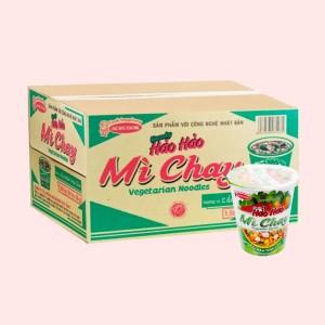 Thùng 24 ly mì chay Handy Hảo Hảo lẩu nấm thập cẩm 66g