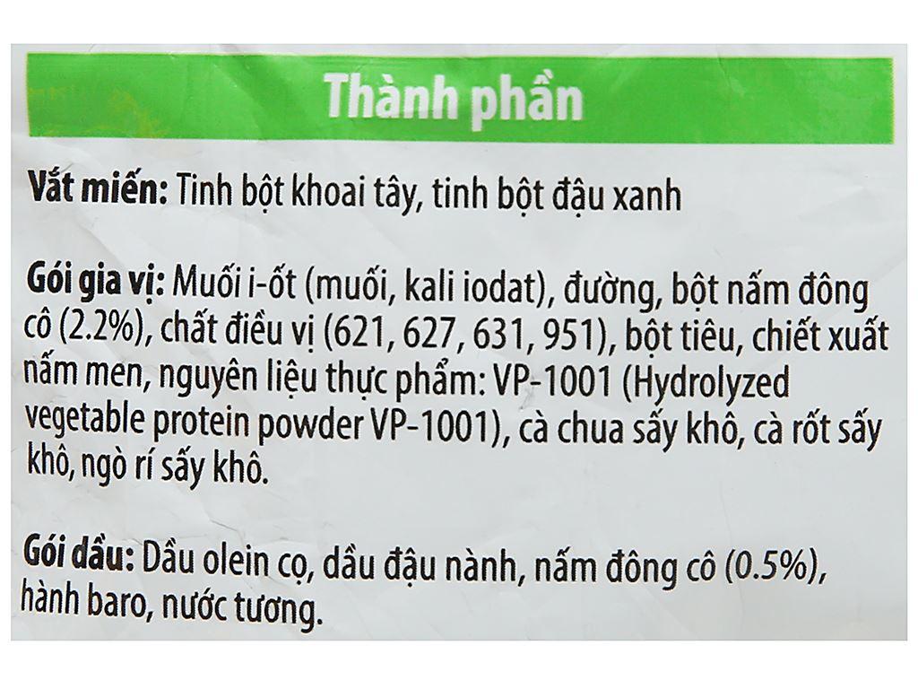 Thùng 24 gói miến chay Khang Phúc rau nấm 50g 4