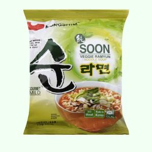 Mì chay Nongshim Soon Veggie Ramyun gói 112g
