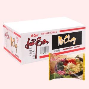Thùng 30 gói mì chay A-one Hương Sen 85g