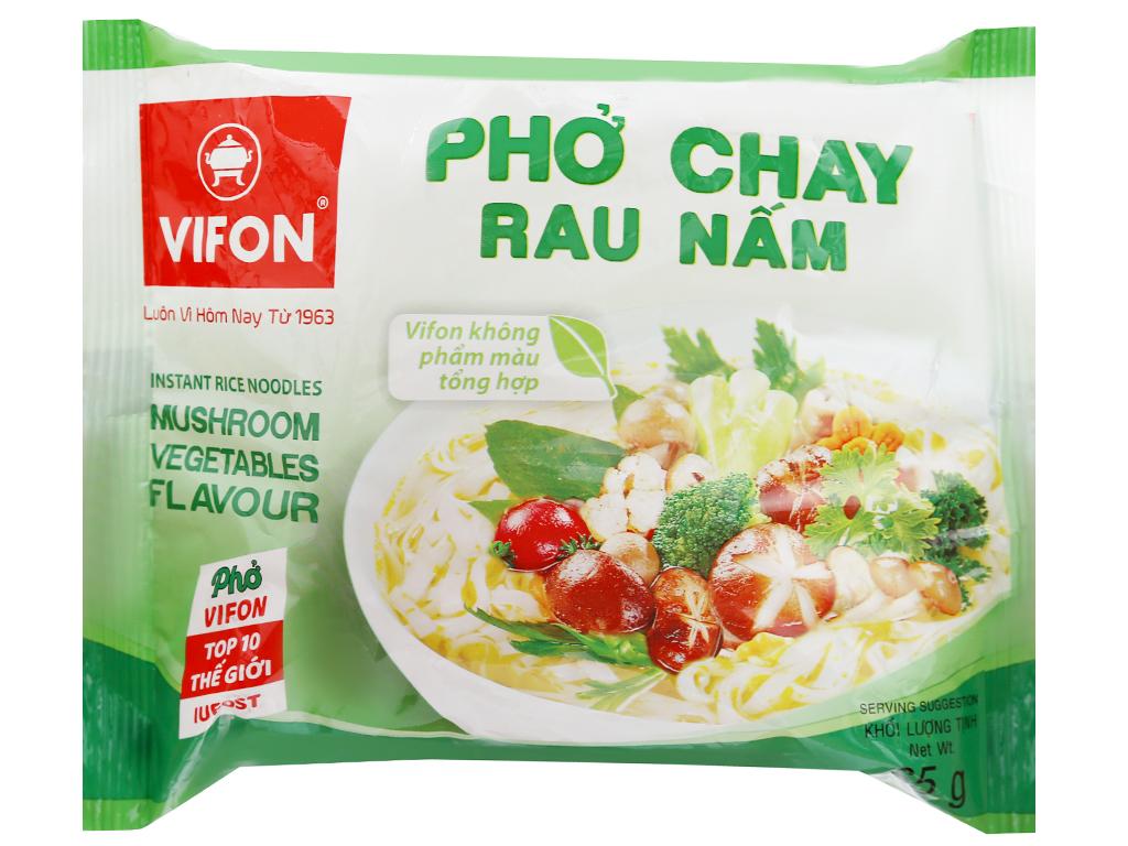Thùng 30 gói Phở chay rau nấm Vifon 65g 7