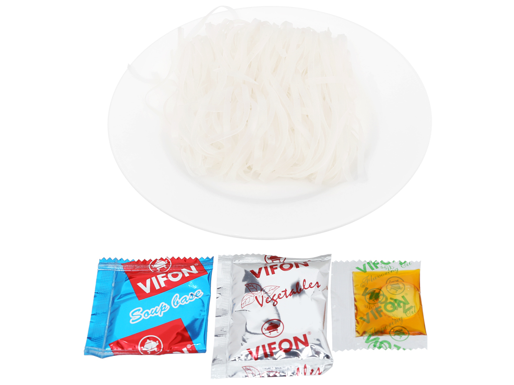 Thùng 30 gói Phở chay rau nấm Vifon 65g 12