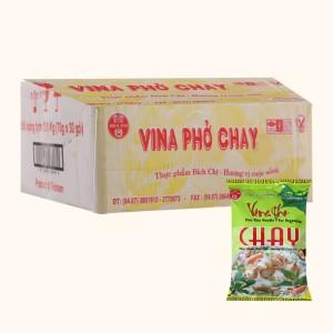 Thùng 30 gói Phở chay vina Bích Chi 70g