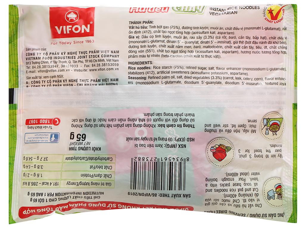 Hủ tiếu chay Vifon gói 65g 2