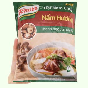 Hạt nêm chay nấm hương Knorr gói 380g