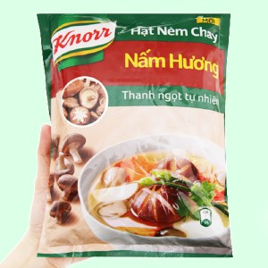 Hạt nêm chay Knorr nấm hương organic 380g