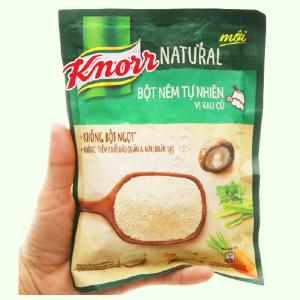 Bột nêm tự nhiên vị rau củ Knorr gói 150g