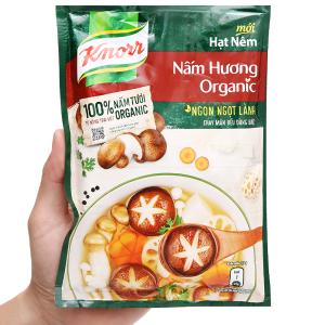 Hạt nêm nấm hương organic Knorr gói 170g