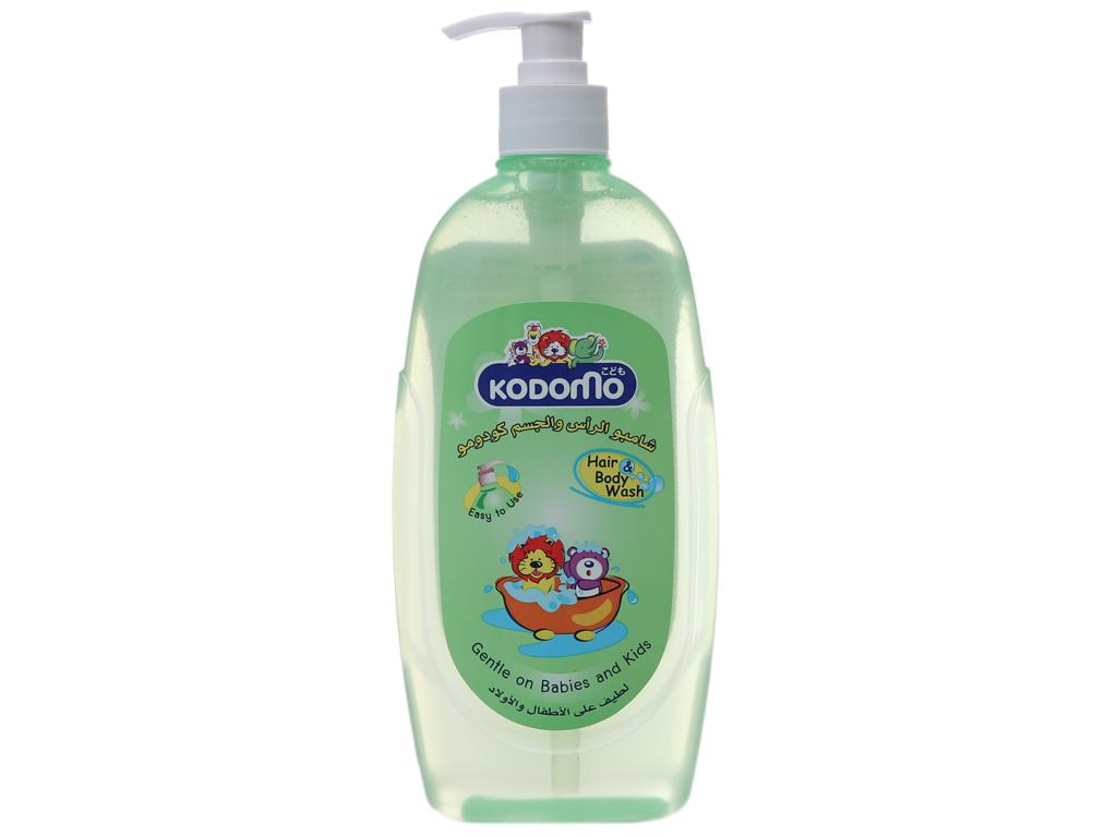 Tắm gội toàn thân cho bé Kodomo 400ml 2