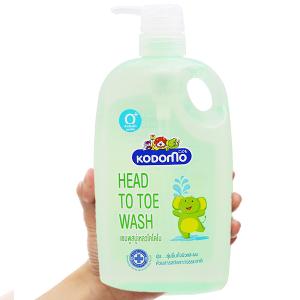Tắm gội toàn thân cho bé Kodomo 800ml