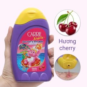 Tắm gội toàn thân cho bé Carrie Junior 280ml