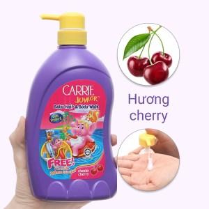 Tắm gội toàn thân cho bé Carrie Junior 700ml