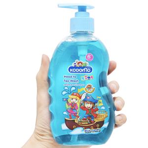 Tắm gội toàn thân cho bé Kodomo 6 Blue Candy 400ml
