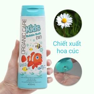Tắm gội toàn thân cho bé Organic Care Bubblebath 400ml