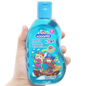 Tắm gội toàn thân cho bé Kodomo Blue Candy 200ml