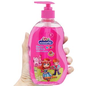Tắm gội toàn thân cho bé Kodomo Fruity Berry 400ml