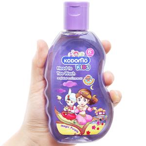 Tắm gội toàn thân cho bé Kodomo Magic Purple 200ml