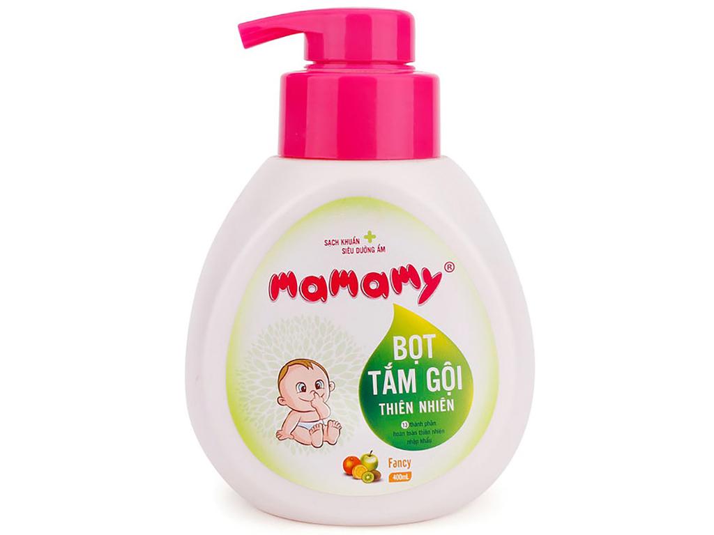 Bọt tắm gội thiên nhiên cho bé Mamamy Fancy 400ml 2