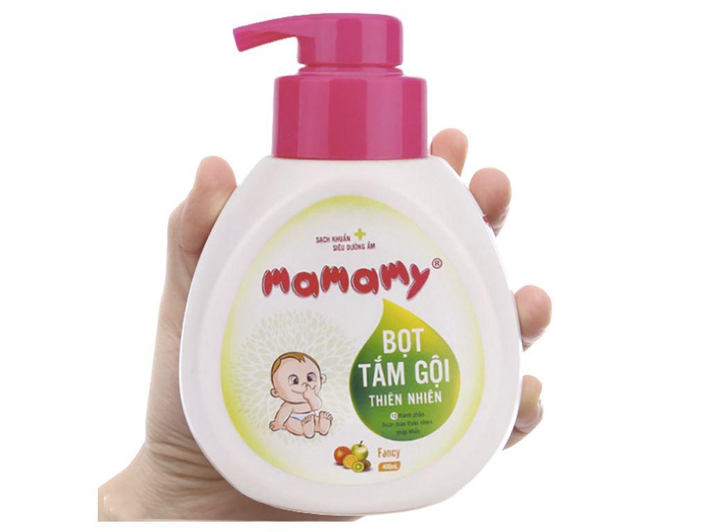 Bọt tắm gội thiên nhiên cho bé Mamamy Fancy 400ml 4
