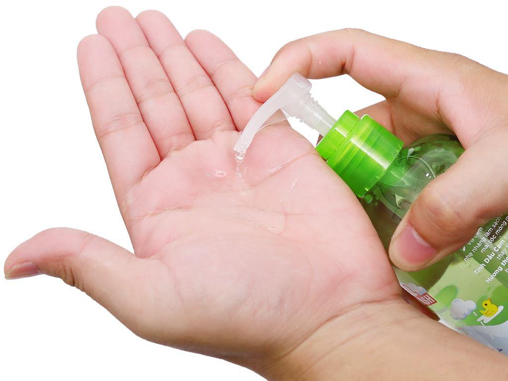 Tắm gội toàn thân cho bé Purité Baby tinh dầu cam 250ml 8