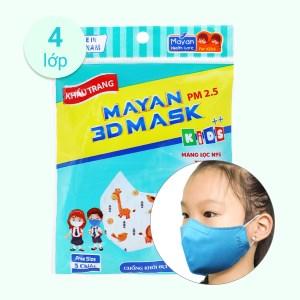 Khẩu trang trẻ em Mayan 3D Mask - giao màu ngẫu nhiên