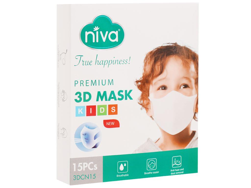 Khẩu trang trẻ em Niva 3D Mask - - giao màu ngẫu nhiên 6