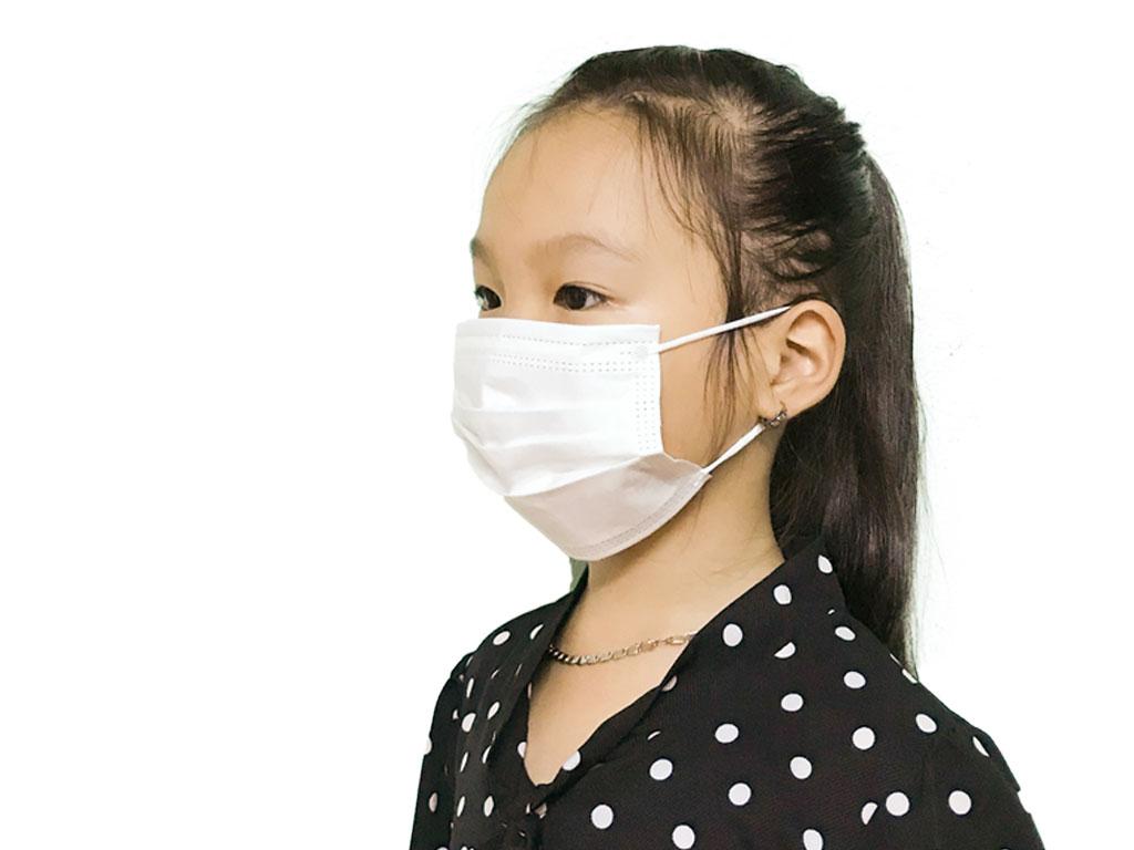 Khẩu trang y tế trẻ em VMEDCARE 3 lớp hộp 50 cái - giao màu ngẫu nhiên 7