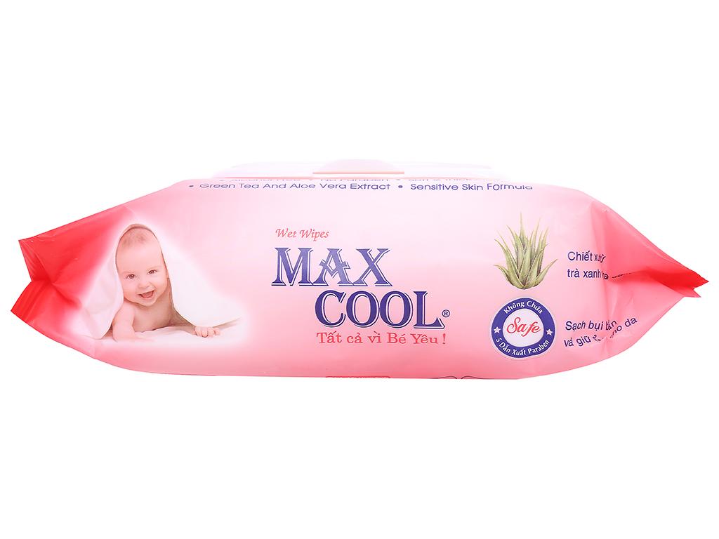 Khăn ướt em bé Max Cool hương tự nhiên gói 100 miếng 3