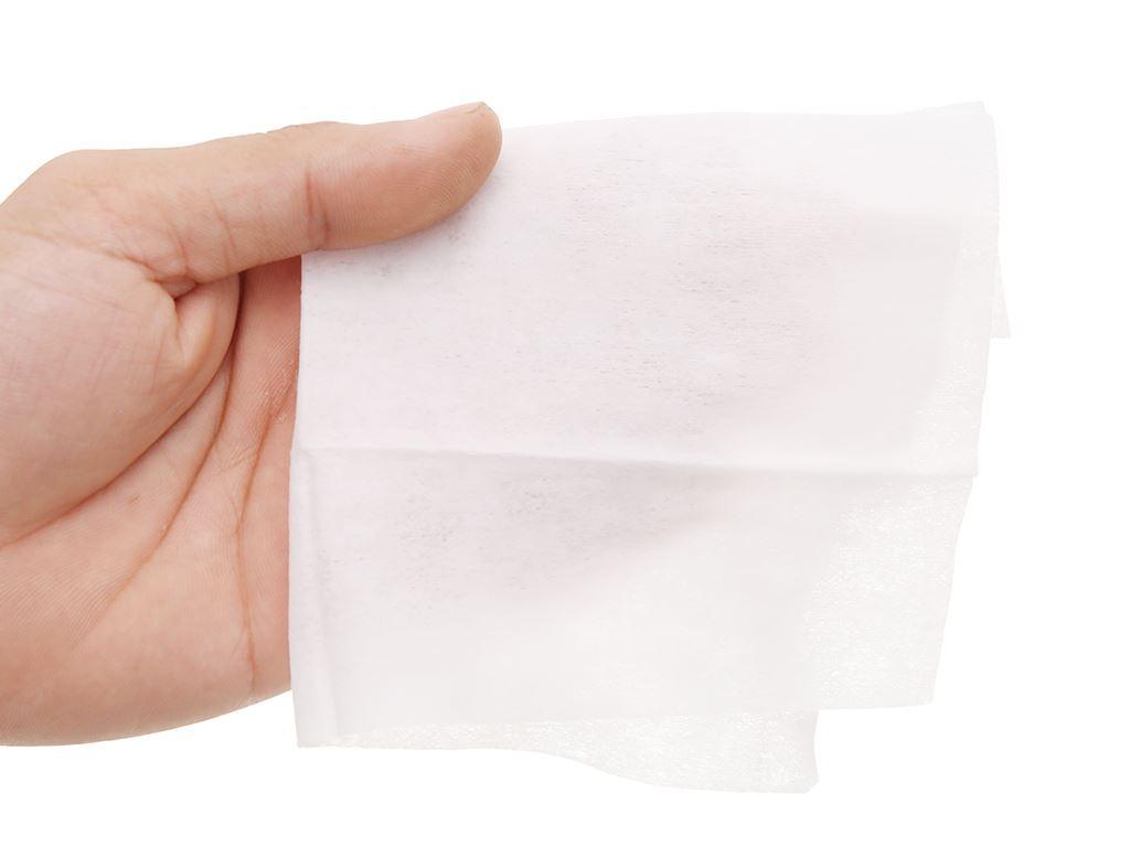 Khăn ướt Puri không mùi gói 20 miếng 6