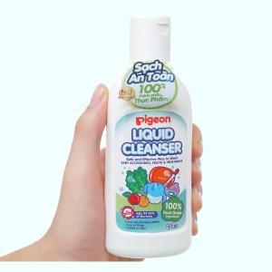 Dung dịch rửa bình sữa & rau củ quả Pigeon 200ml