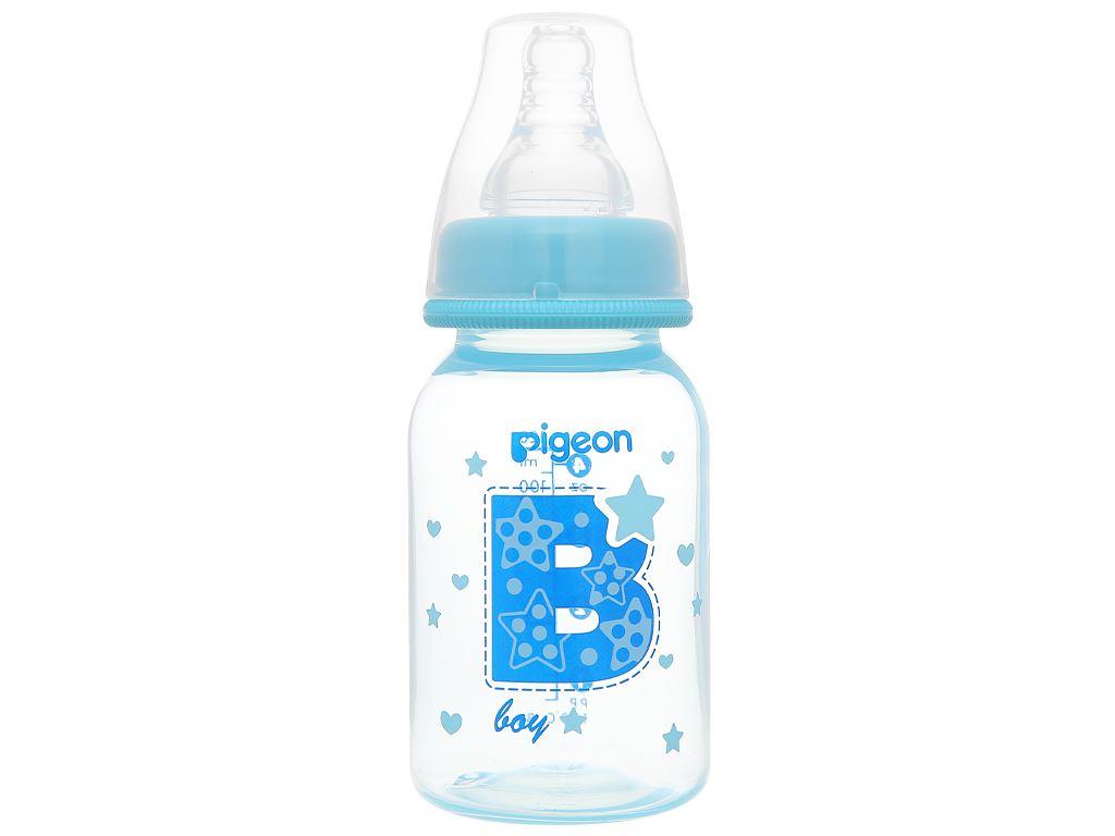 Bình sữa cho bé Pigeon cao cấp 120ml (giao màu ngẫu nhiên) dành cho bé 0 - 4 tháng 5