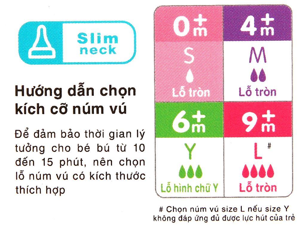Bình sữa cho bé Pigeon cao cấp 120ml (giao màu ngẫu nhiên) dành cho bé 0 - 4 tháng 10