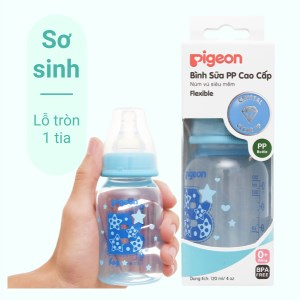 Bình sữa cho bé Pigeon cao cấp 120ml