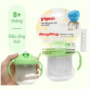 Bình uống nước có tay cầm Pigeon 200ml