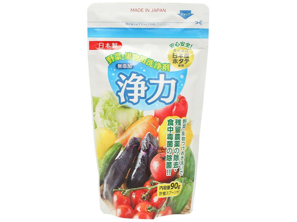 Bột rửa rau quả Jyoriki 90g 1