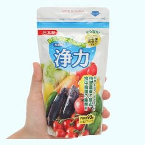 Bột rửa rau quả Jyoriki 90g