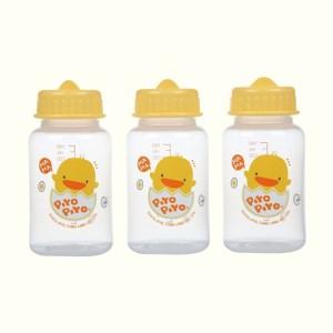 Bộ 3 bình trữ sữa Piyo Piyo nhựa PP 150ml